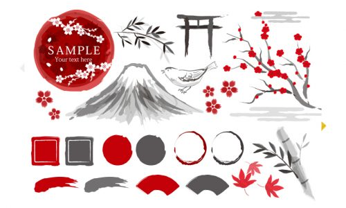 富士山イラスト