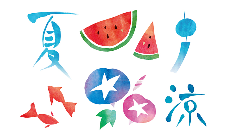 手描き風「夏」イラスト無料素材10選(商用利用可) | ACworks BLOG