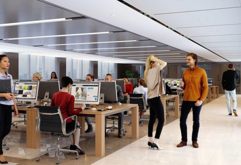 IT企業オフィス写真素材