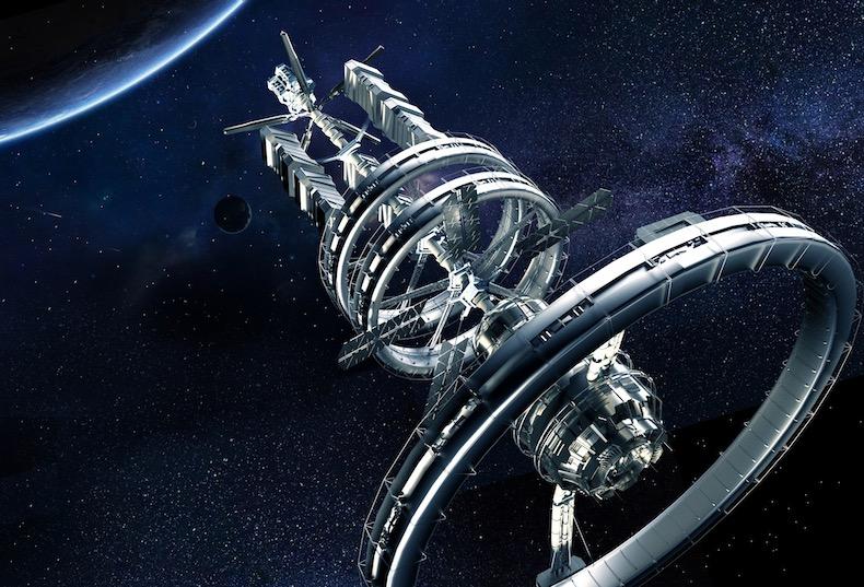 宇宙船写真素材