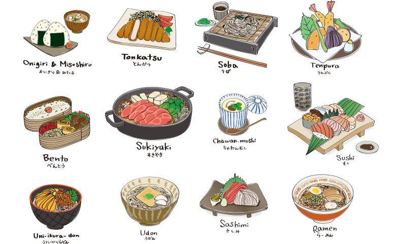 日本食イラスト